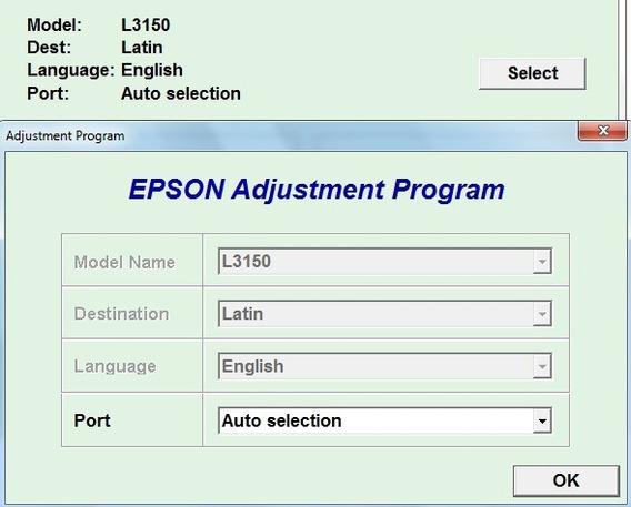 Reset Epson L3150 L3110 + Gerador De Serial Full Keygen