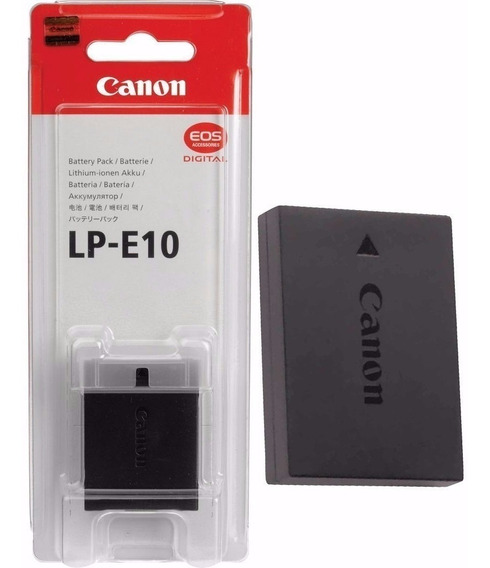 Bateria Lp-e10 Para Câmera Canon Rebel T3 T5 T6