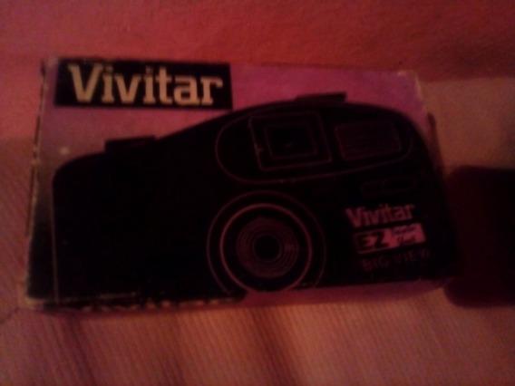 (relíquia) Câmera Fotográfica Com Flash. Leia A Descrição