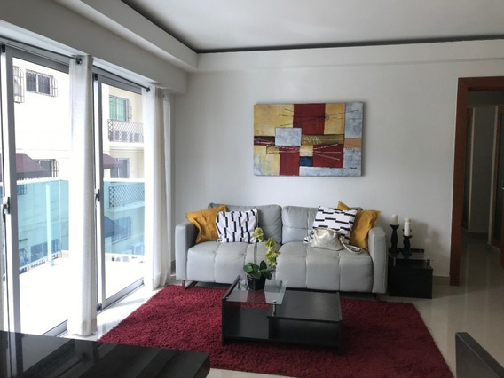 Apartamento Amueblado En Alquiler En Bella Vista