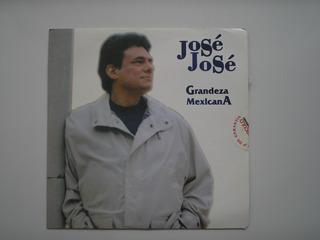 Lp Vinilo Jose Jose Grandeza Mexicana Nuevo Sellado 1994