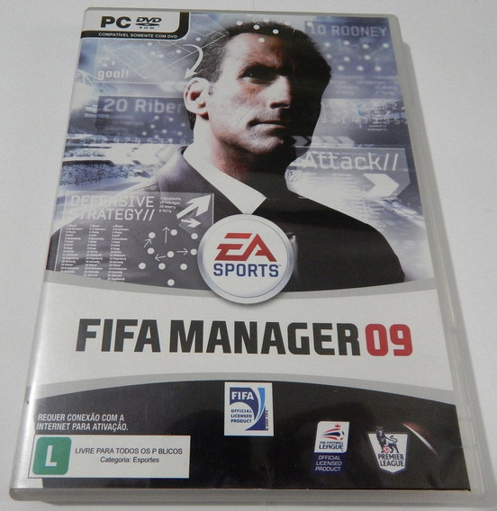 Pc Game Fifa Manager 09 Dvd-rom
