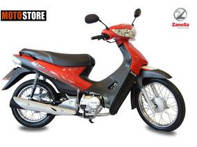 Moto Zb 110cc Con Arranque Electrico Zanella 0km 2018