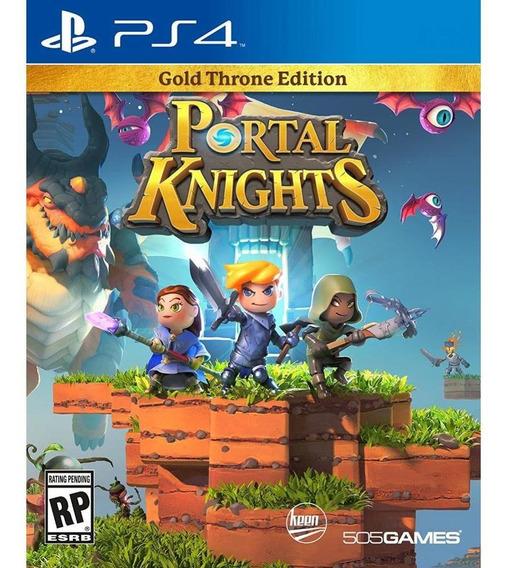 Portal Knights Gold Throne Edition Ps4 Midia Física Novo