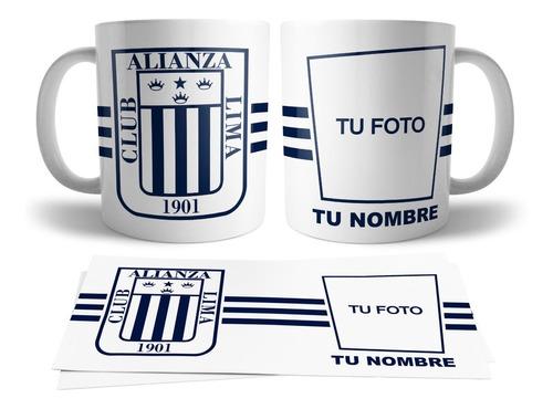 Taza Personalizada Club Deportivo Alianza Lima