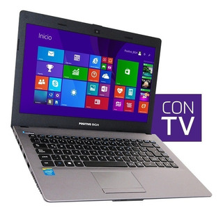 Notebook Positivo Bgh Z120 Tv Dual Core 14
