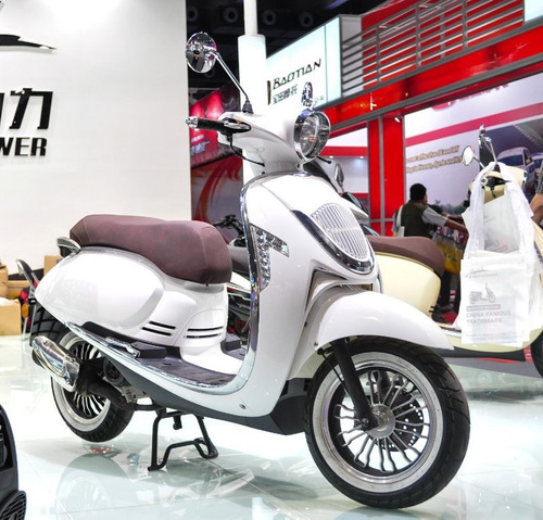 Talca Scooter Motocicleta Modelo Veterano 150 Cc Retro