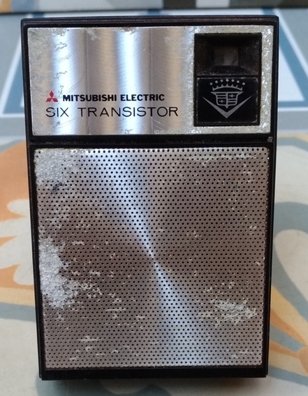 Rádio Mitsubishi Electric Six Transistor 1 Faixa Am