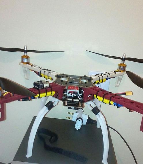 Drone F450 Com Naza Lite E Radio