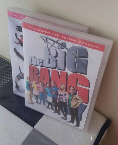 Dvds The Big Bang Theory Seriado 1ª À 12ª Temp. Frete Grátis