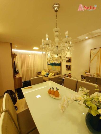 Lindo Apartamento 2 Dormitórios 1 Suíte, Vila Milton $325.000,00 - Ap0292
