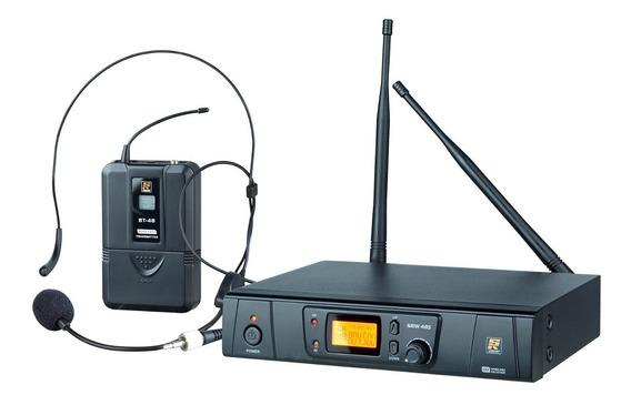 Sistema De Microfone Sem Fio Uhf Headset Srw-48s - Staner