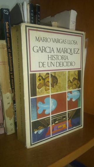 Mario Vargas Llosa. Historia De Un Deicidio. Firmado