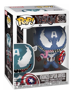 Funko Pop Venomized Captain America 364 / Marvel / Original