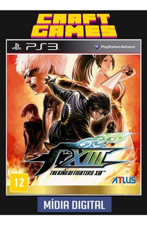 The King Of Fighters Xiii 13 Ps3 Psn Envio Imediato