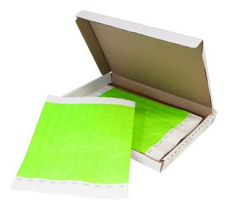 Pulseras De Papel Tyvek (caja Con 500 Piezas)