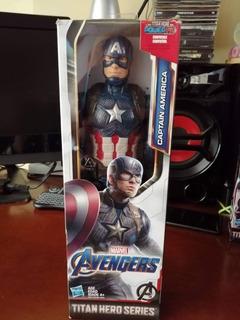Capitán América Titán Hero Series Nuevo Sellado.