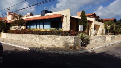 Casa Residencial C/03 Suite,piscina,bar Molhado Para Venda E Locação De Temporada, Alt Plano, Cond.fechado, João Pessoa. - Ca0587