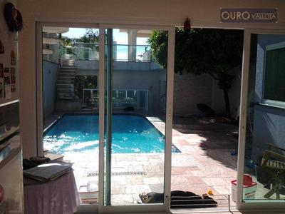 Vendo - Sobrado No Pq Da Mooca - 3 Suítes- 6 Banheiros- Com Piscina E Churrasqueira - Imperdivel - 500m² - So0471
