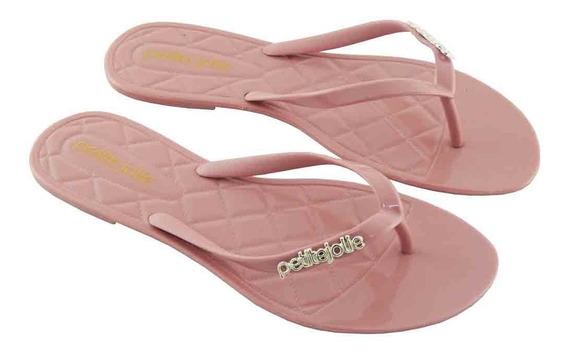 Chinelo Petite Jolie Feminino Rosa Pj1535 Lançamento Novo
