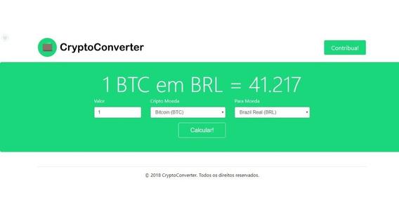 Script Criptoconverter Conversor De Criptomoedas Automático