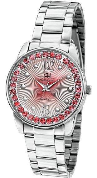 Relógio Ana Hickmann Ah28875v Prata