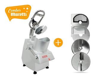 Combo Moretti Procesadora Vc65 + Kit X9 Discos