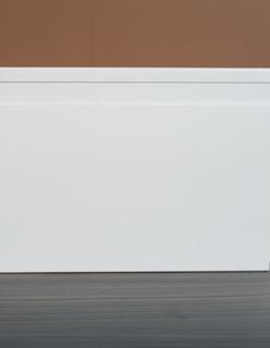Rodapé De Poliestireno Bco Frisado - Alto Padrão 15cm Altura