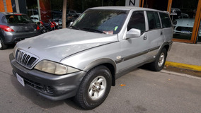 Ssangyong Musso At Blindado Rb3 Oportunidad Alza Motors