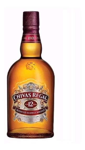 Whisky Chivas Regal 12 Años - 750 Ml