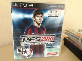 Pes 2010 Pro Evolution Soccer Ps3