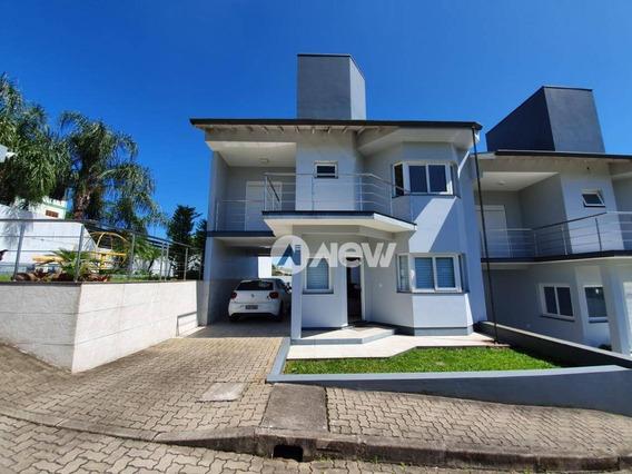 Casa Com 3 Dormitórios À Venda, 119 M² Por R$ 510.000,00 - Rondônia - Novo Hamburgo/rs - Ca2397