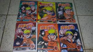 Naruto Serie En Dvd 6 Volumenes