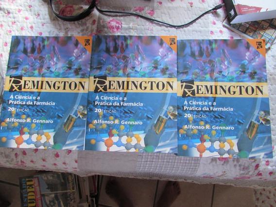 Remington A Ciência E A Prática Da Farmácia 3 Vols- Alfonso