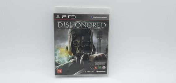 Dishonored - Ps3 - Mídia Física Em Cd