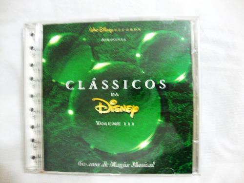 Cd Classicos Da Disney Volume 3 Trilha De Filme