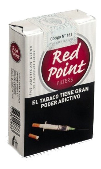 Red Point Rubio Ks (10 Atados X 20 Cigarrillos)