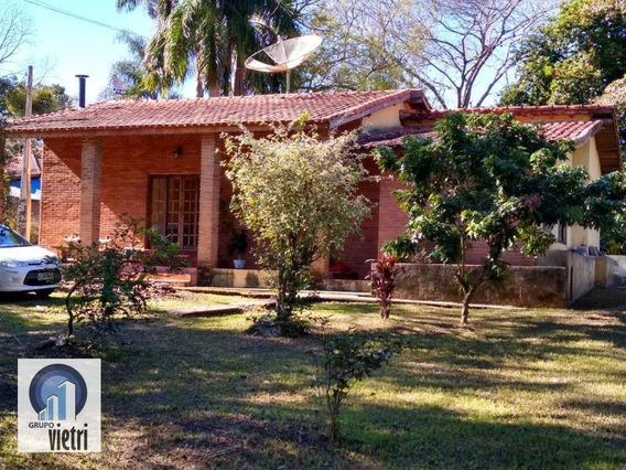 Chácara Com 3 Dormitórios À Venda, 1650 M² Por R$ 350.000 - Vila Nova Era - Iperó/sp - Ch0240