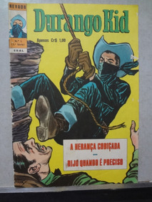 Gibi Durango Kid (nevada) 3ª Série - N° 1 Ebal 1974