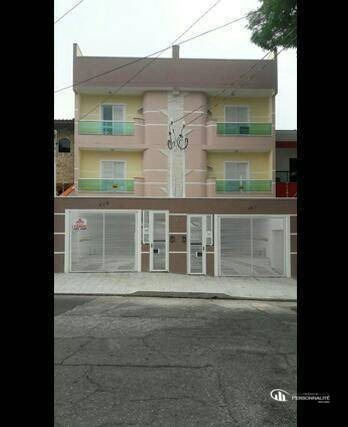 Apartamento Com 2 Dormitórios À Venda, 63 M² Por R$ 360.000,00 - Vila Pires - Santo André/sp - Ap0543
