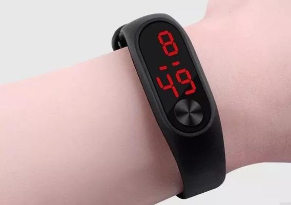 Relógio Bracelete Led Touch Várias Cores