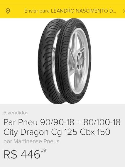**leia** Par De Pneu Para Uso Sem Câmera City Dragon Pirelli