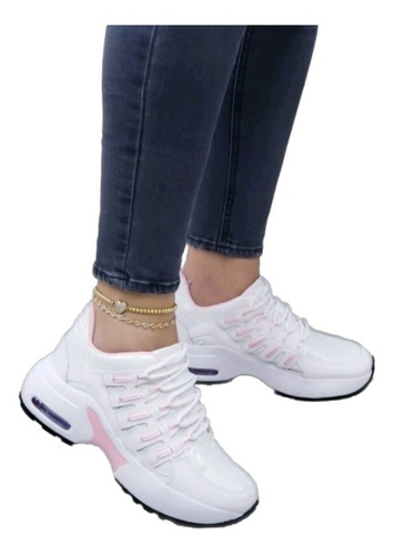 Imagen 1 de 4 de Lindos Tenis Mujer De La Mejor Calidad Calzado Nacional