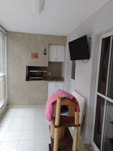 Apartamento 82 Metros 3 Dormitórios 1 Suíte 1 Vaga Terraço Gourmet - 15811 Ap-tul