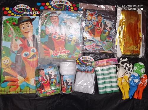 Piñata Y Decoración La Granja De Zenon