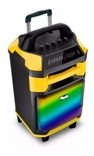 Parlante Karaoke Embassy 1611 300w Bluetooth Bateria Mic Fm