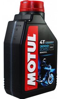 Aceite Motul 3000 20w50 4t Lubricante Mineral No Elf Rider