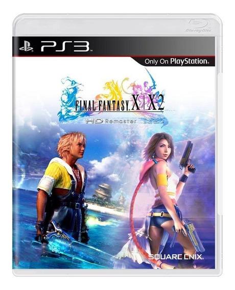 Final Fantasy X / X2 Hd Remaster Ps3 Mídia Física