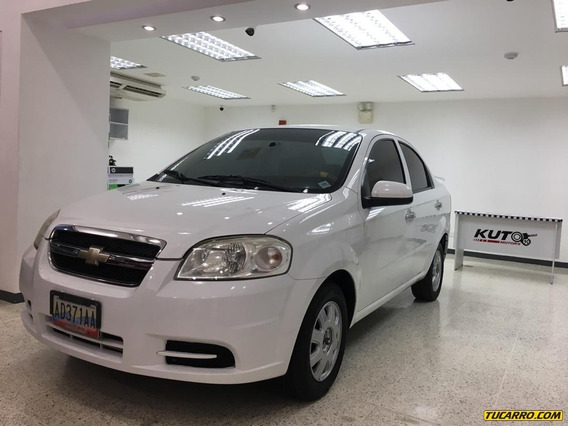 Chevrolet Aveo Lt Sincronica