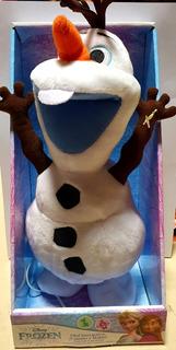 Peluche Olaf Frozen Interactivo Camina Repite Casa Valente